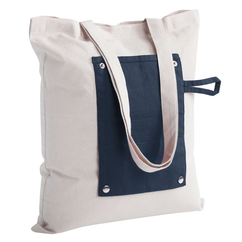 394aaf7346d9 Холщовая сумка Dropper, складная, синяя (LikeTo 6863.40) | Купить в ...