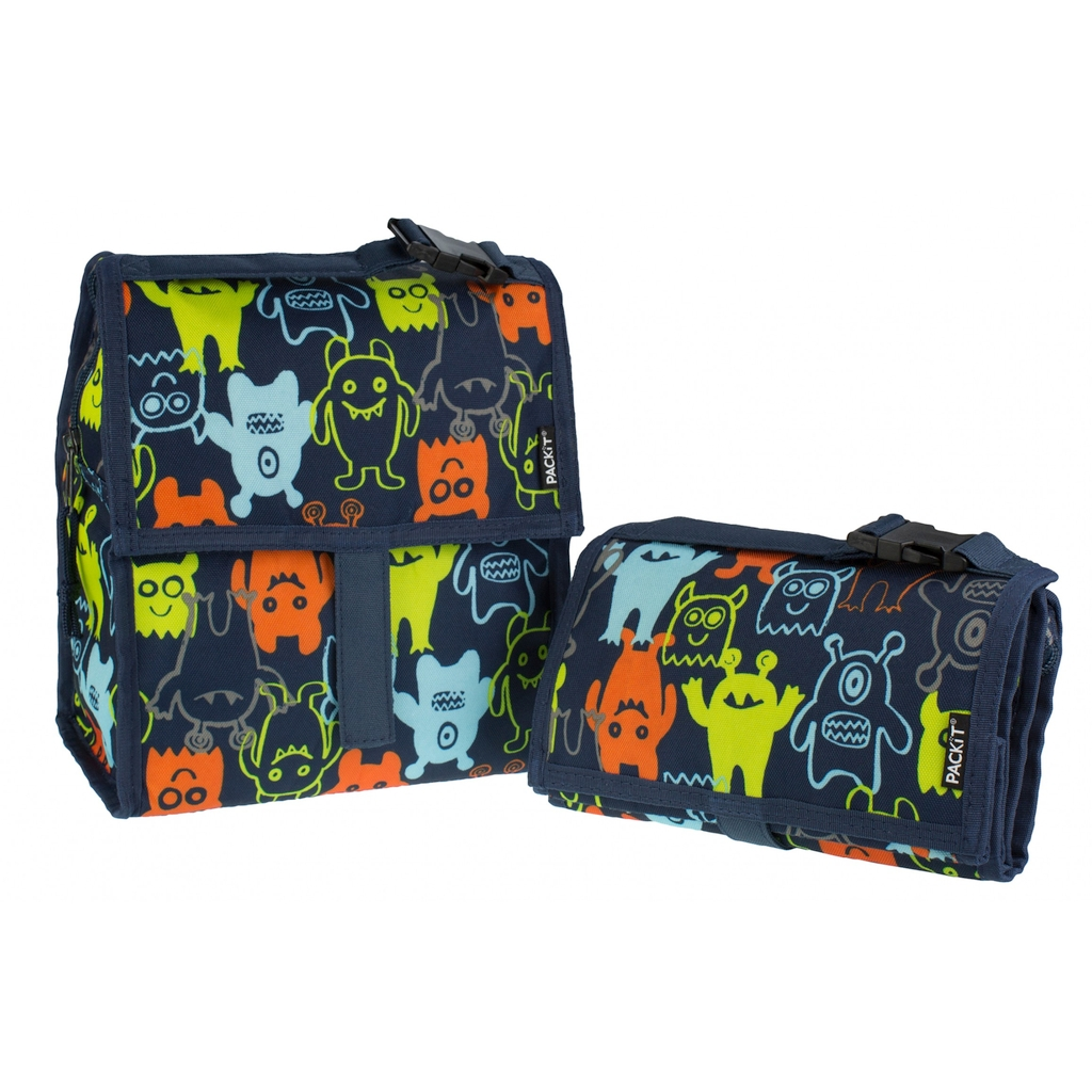 PACKiT packit0005: Сумка холодильник Lunch Bag Monsters