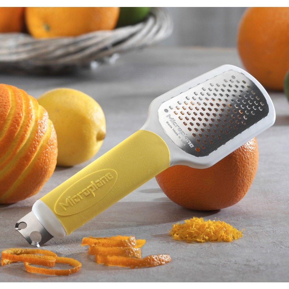 Microplane 34620: Тёрка Speciality Ultimate Citrus Tool, жёлтый