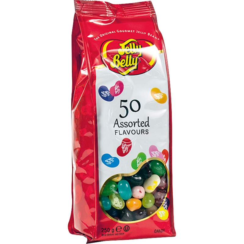 Jelly Belly 67042: Конфеты ассорти с 50 лучшими вкусами Best Official Flavour, 250 г