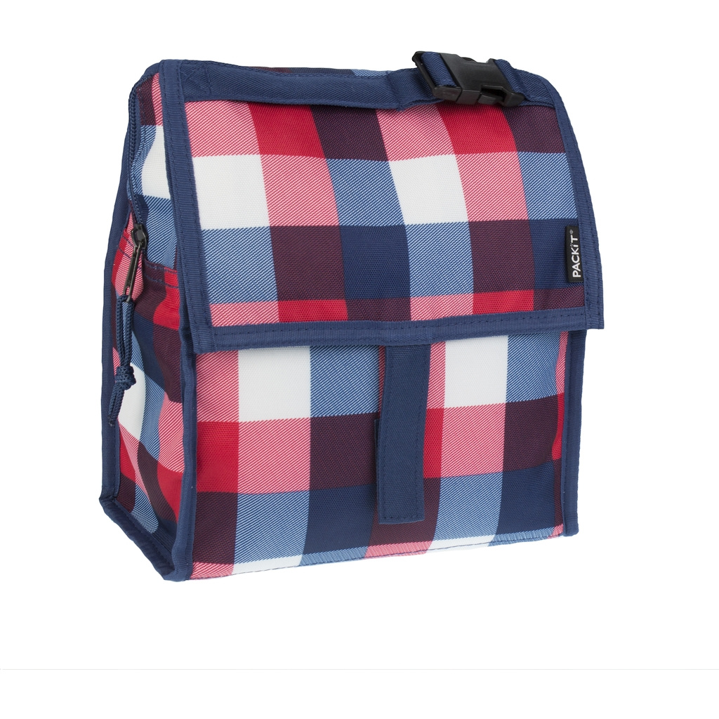 Сумка холодильник Lunch Bag Buffalo Check (PACKiT packit0003)