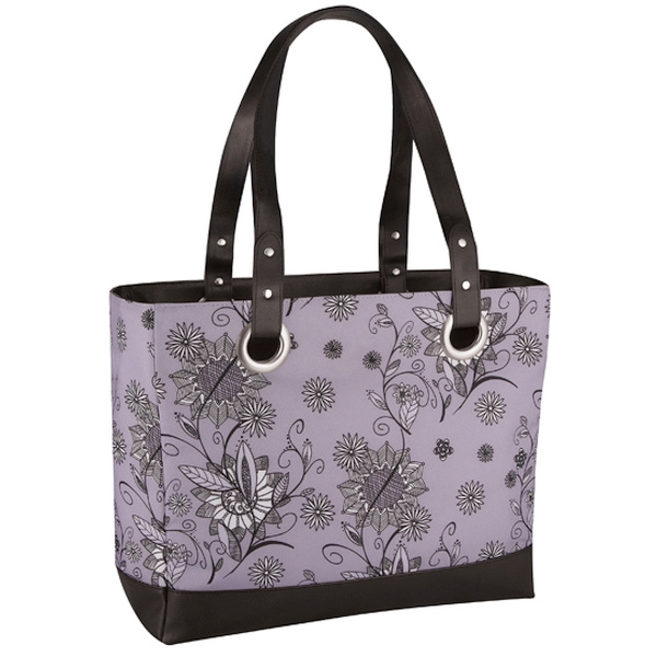 Thermos 420961: Сумка-холодильник Raya Tote-Purple Flower 14 л