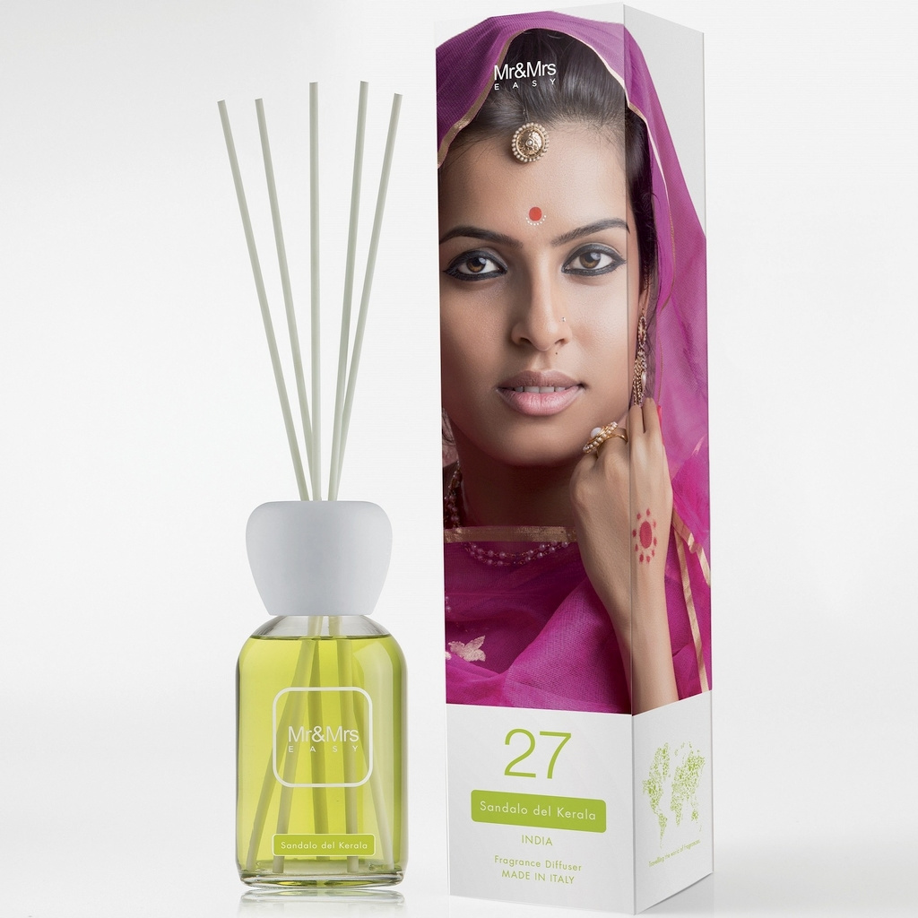 Mr&Mrs Fragrance N012606: Аромадиффузор Easy №27 Sandal Of Kerala, 250 мл