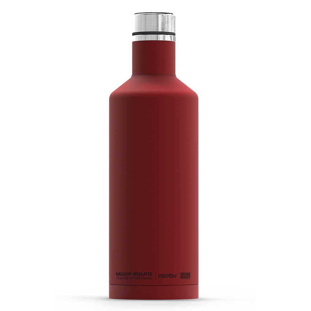 Термобутылка Times square travel bottle красная, 0.45 л (Asobu SBV15 red)