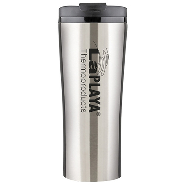 Термокружка La Playa Vacuum Travel Mug серебристая, 0.4 л (LaPLAYA 560080)